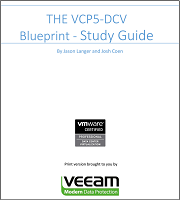 Free VCP5-DCV and VCAP5-DCA Study Guides