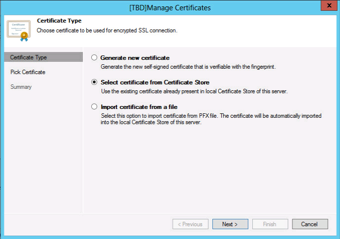 Generate and install SSL Certificates on Microsoft Windows