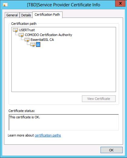 certificate path