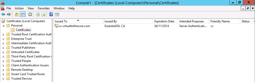 Generate and install ssl certificates on microsoft windows certificates mmc yadclub Image collections