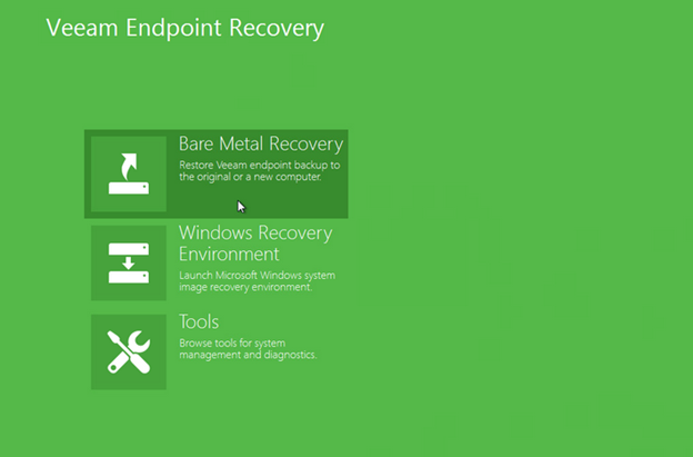 Bare metal Recovery for Laptops and PCs