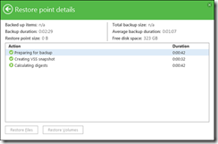 Veeam Endpoint Backup automatically detects and continues the existing laptop backup chain when the job starts