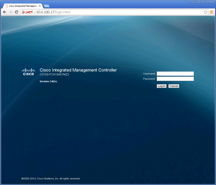 Cisco Integrated Management Controller