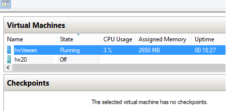 Hyper-V dynamic memory. VM is under workload
