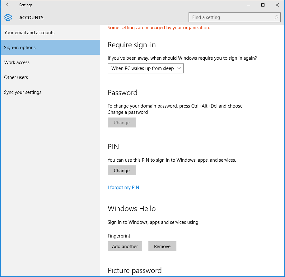 Single Sign-on Windows 10 Active Directory