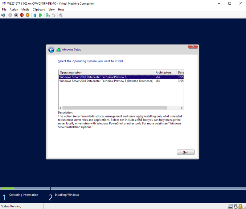How to Deploy Windows Server 2016