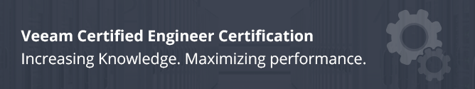 Veeam Certified Engineer Certification