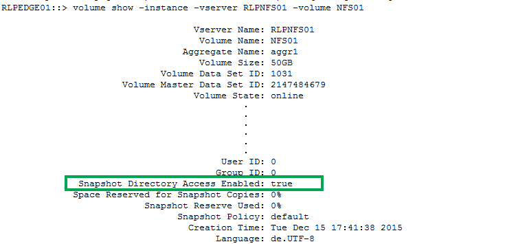 NetApp NFS volumes and Veeam