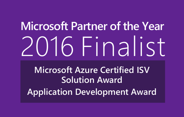 Microsoft Partner of the Year Finalist