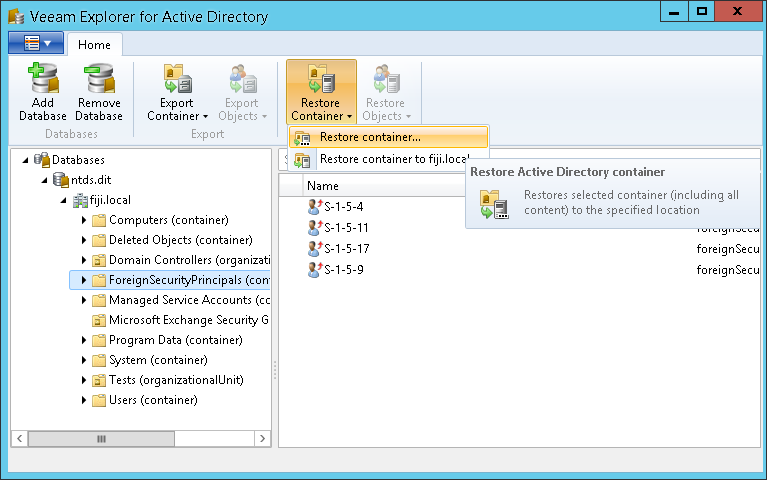 Veeam and Nimble Storage integration