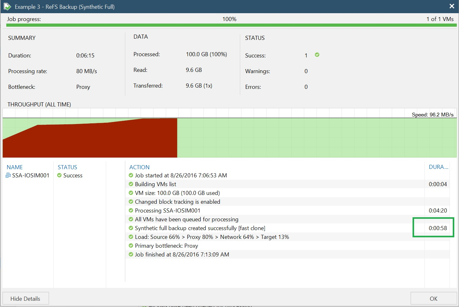 Advanced ReFS integration coming in Veeam Availability Suite 9.5
