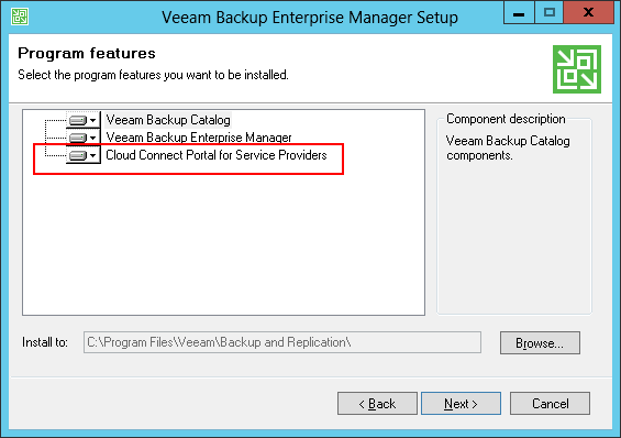 Replication services with Veeam Cloud Connect v9
