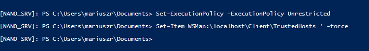 Setting up Nano Server with Hyper-V Role 2