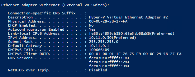 Setting up Nano Server with Hyper-V Role 6