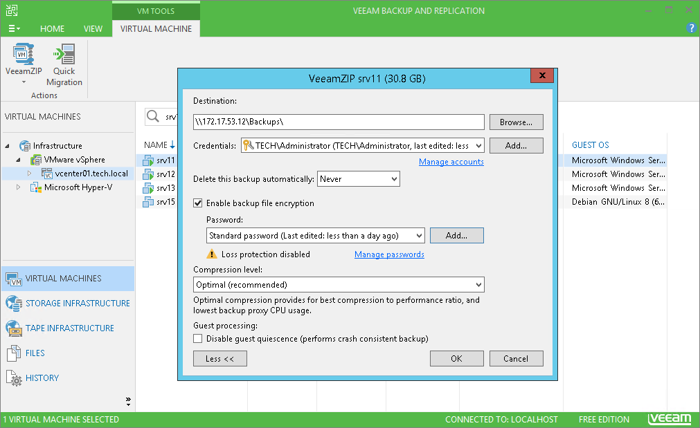 Free tools for powerful data protection – Veeam