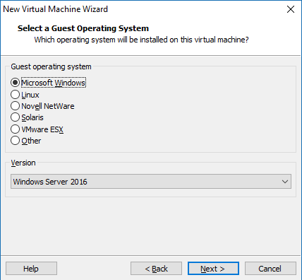 Hyper-V based on Windows Server 2016