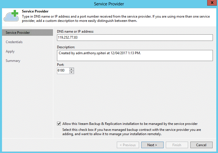 Veeam Backup & Replication 9.5 Update 2