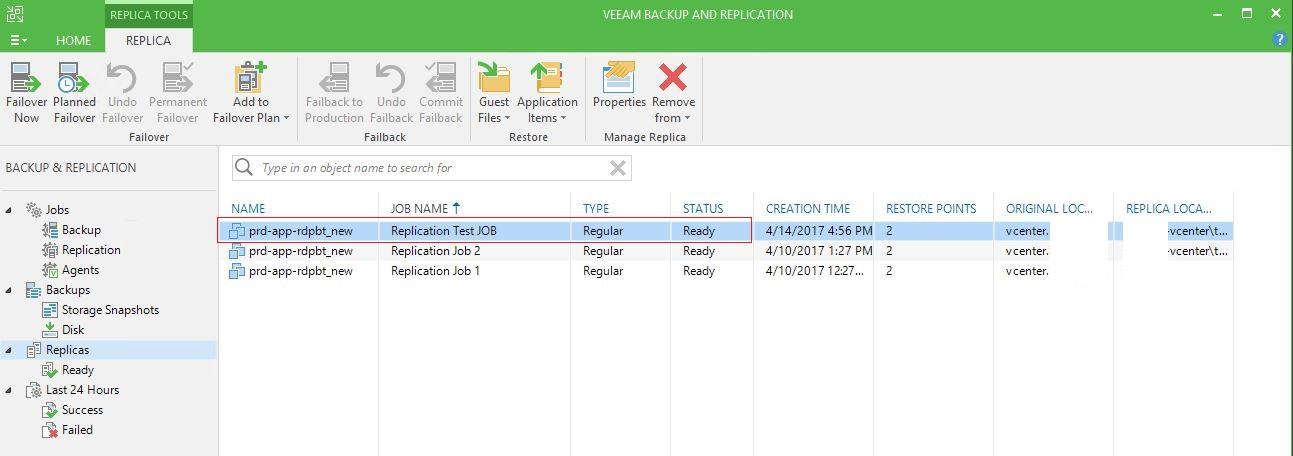 Veeam Backup & Replication ile adım adım failover ve failback