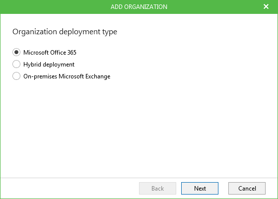 Veeam Backup for Microsoft Office 365 1.5