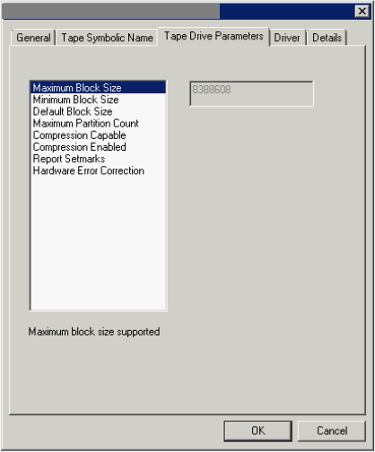 """How to restore from tapes with """"Invalid block size"""""""