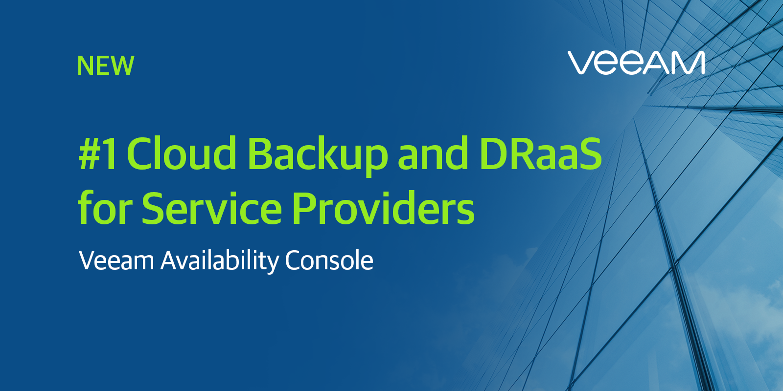 New Veeam Availability Console For Sps Release