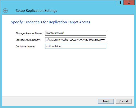 Azure Archive Storage for Veeam and StarWind VTL Integration