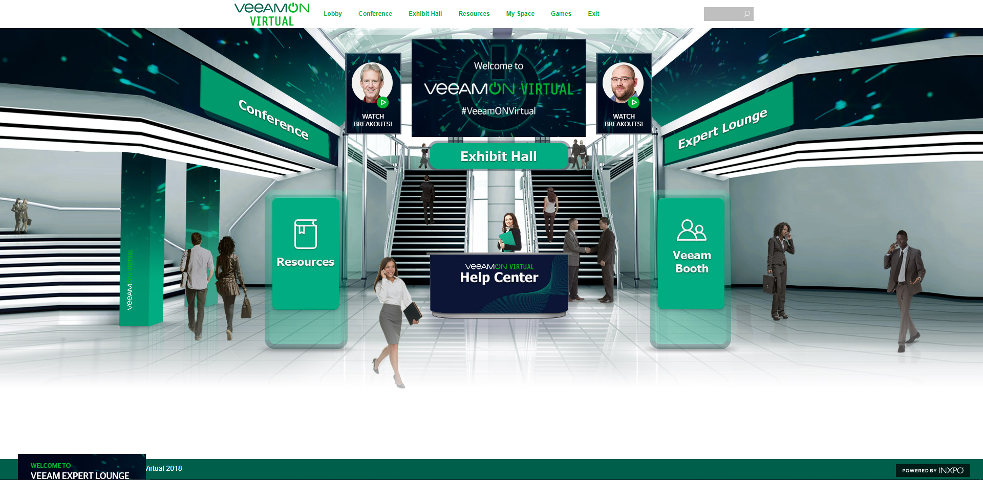 VeeamON-Virtual-Lobby