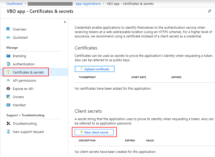 Office 365 App ID, App secret and App Password Setup Guide