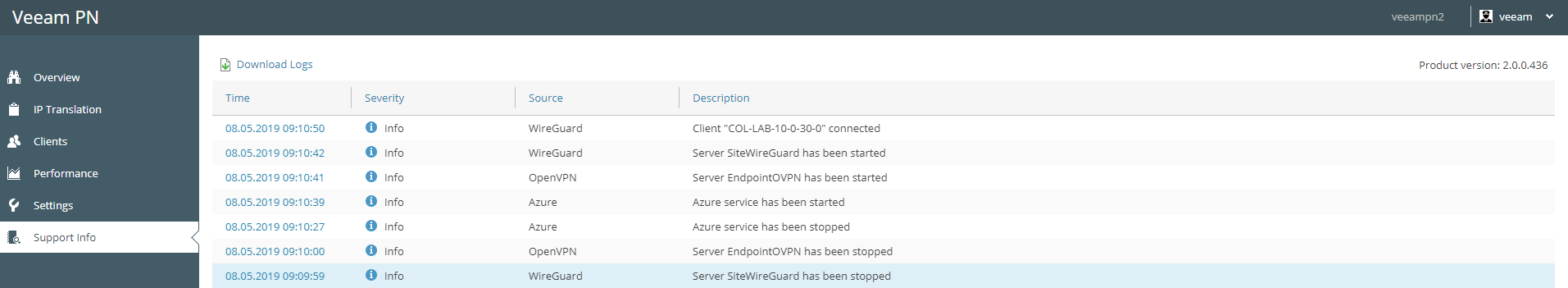 WireGuard Featured in Veeam Powered Network v2