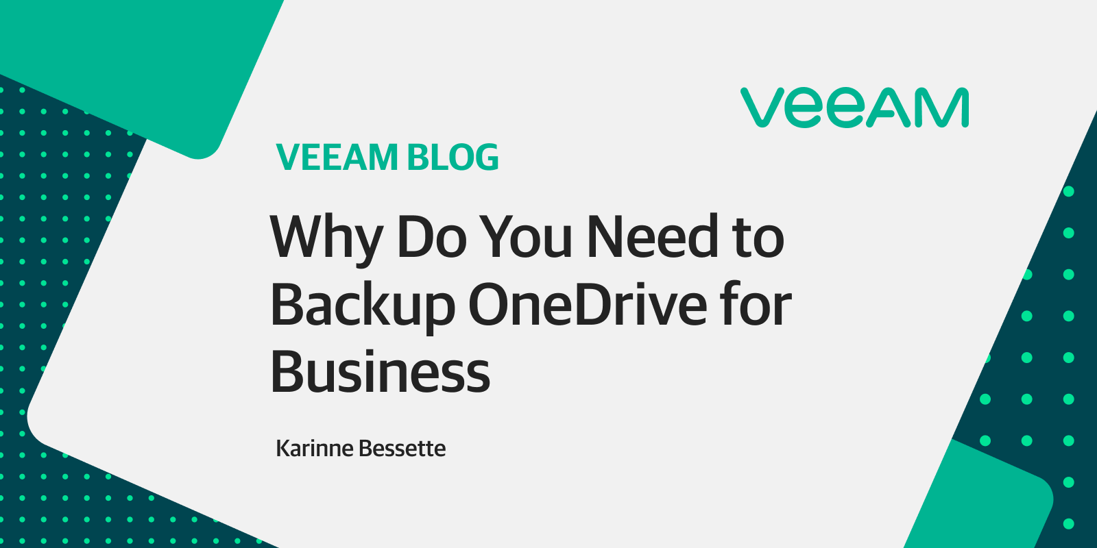 Why backup OneDrive for Business
