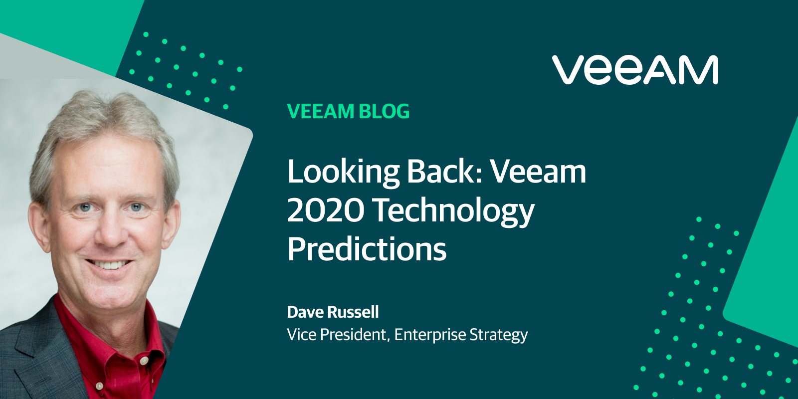Looking Back: Veeam 2020 Technology Predictions