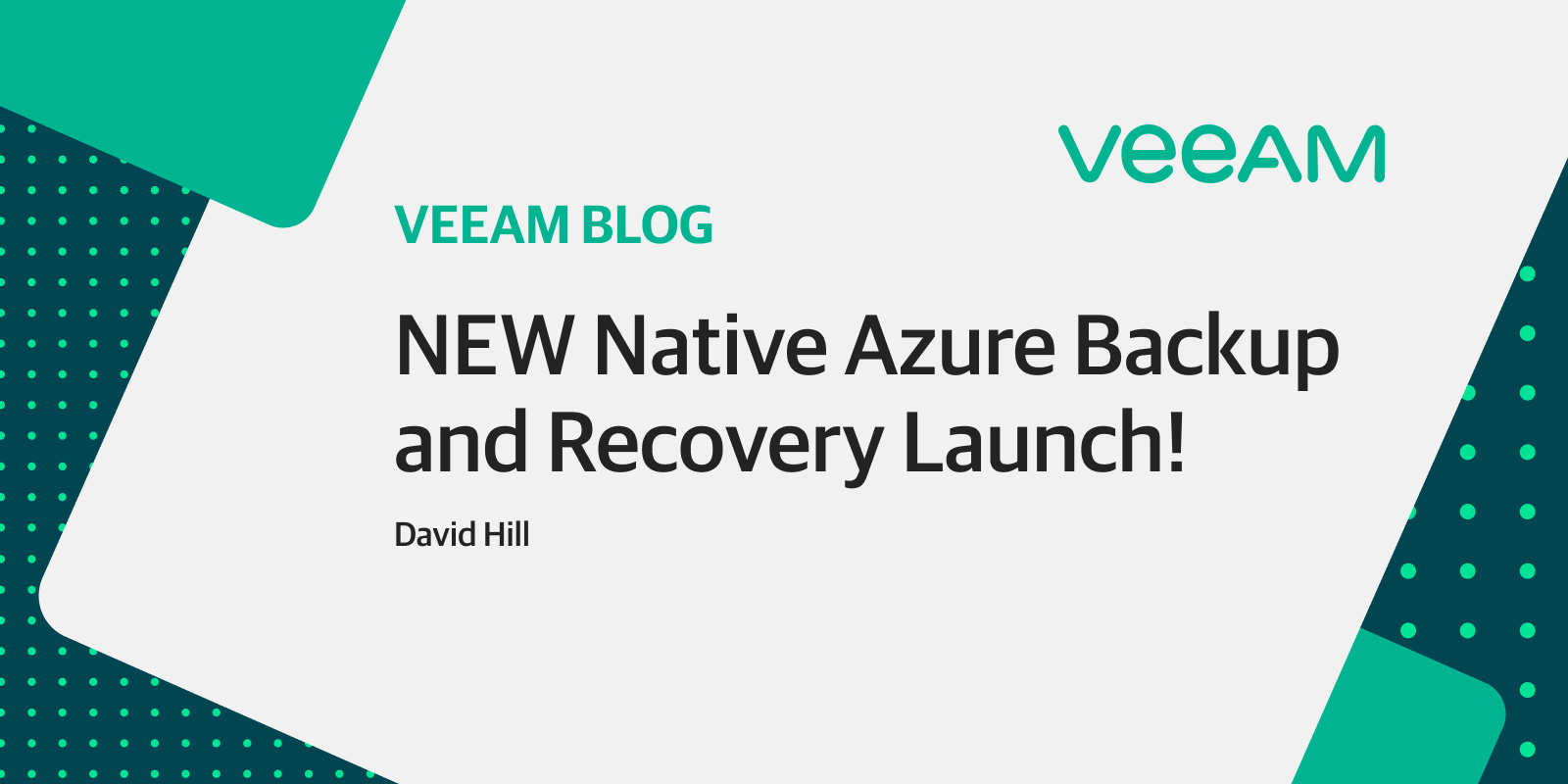 All new Azure backup and recovery is now generally available!