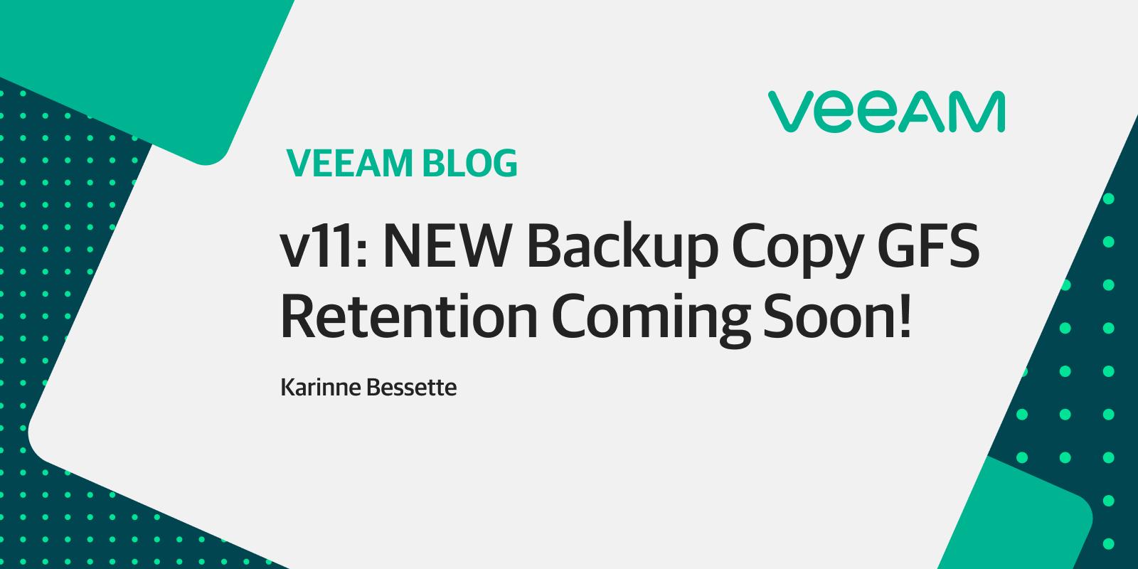 v11: NEW GFS retention coming soon!