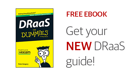 FREE! DRaaS For Dummies eBook