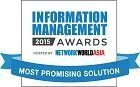 2015 Most Promising Data Management Solution by NetworkWorld Asia's (NWA) Information Management Awards