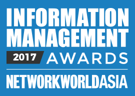 Network World Asia Information Management Awards 2017