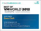 Best of VMworld Europe 2012 – User awards