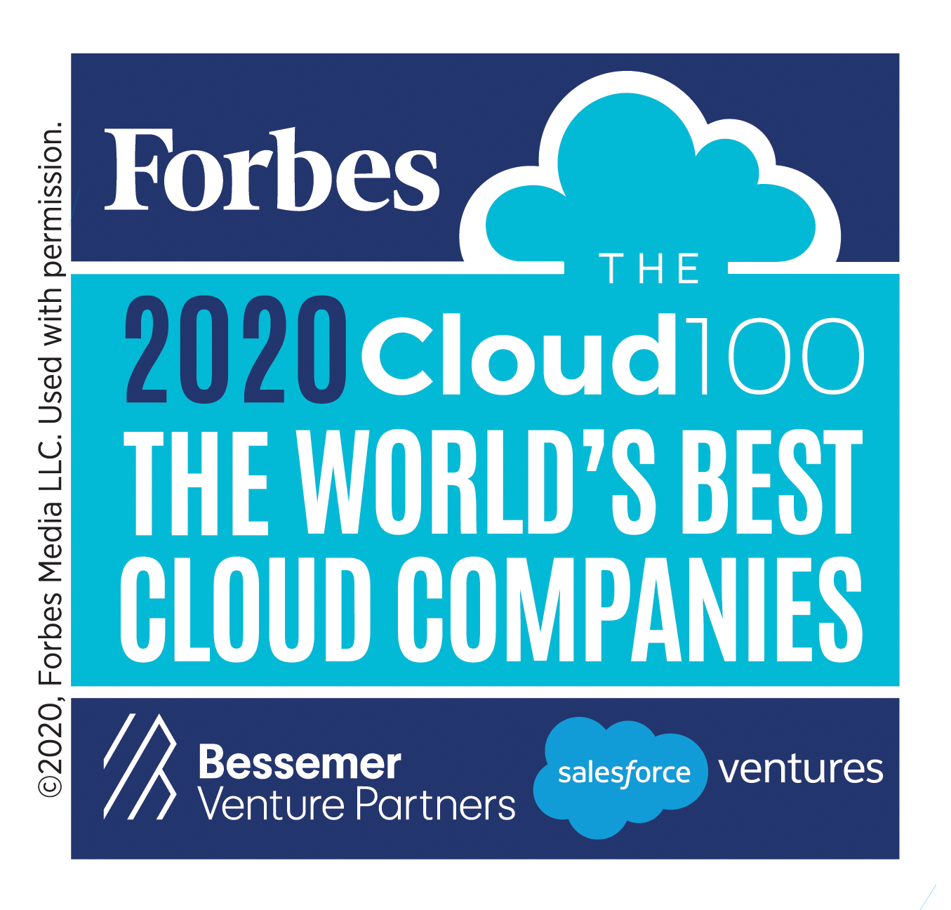 Forbes Lists Veeam on the 2020 Forbes Cloud 100 for the Fifth Consecutive Year