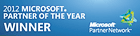 Microsoft Management and Virtualization Partner of the Year 2012