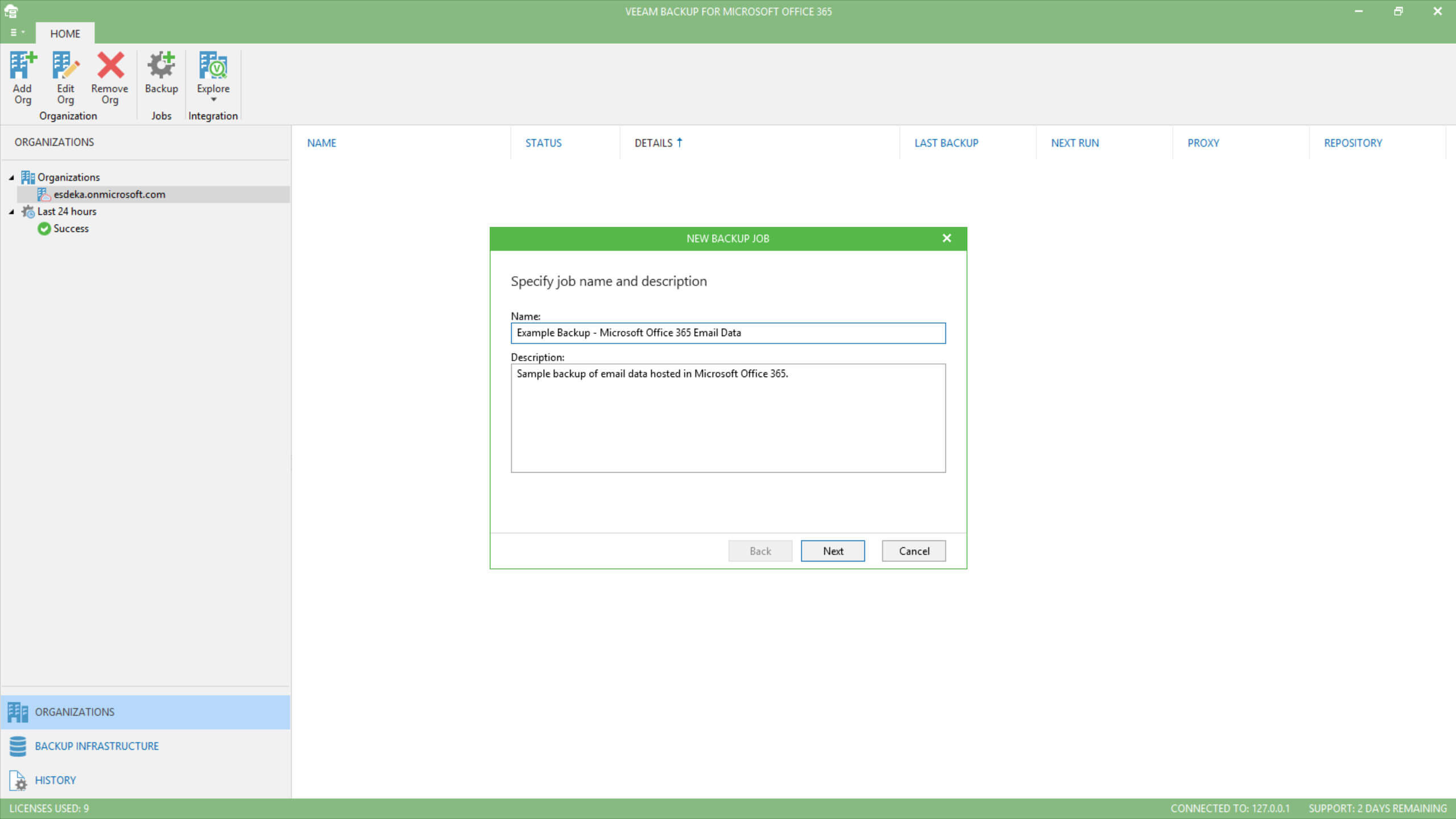 Office 365 Cloud Recovery From A Veeam Backup