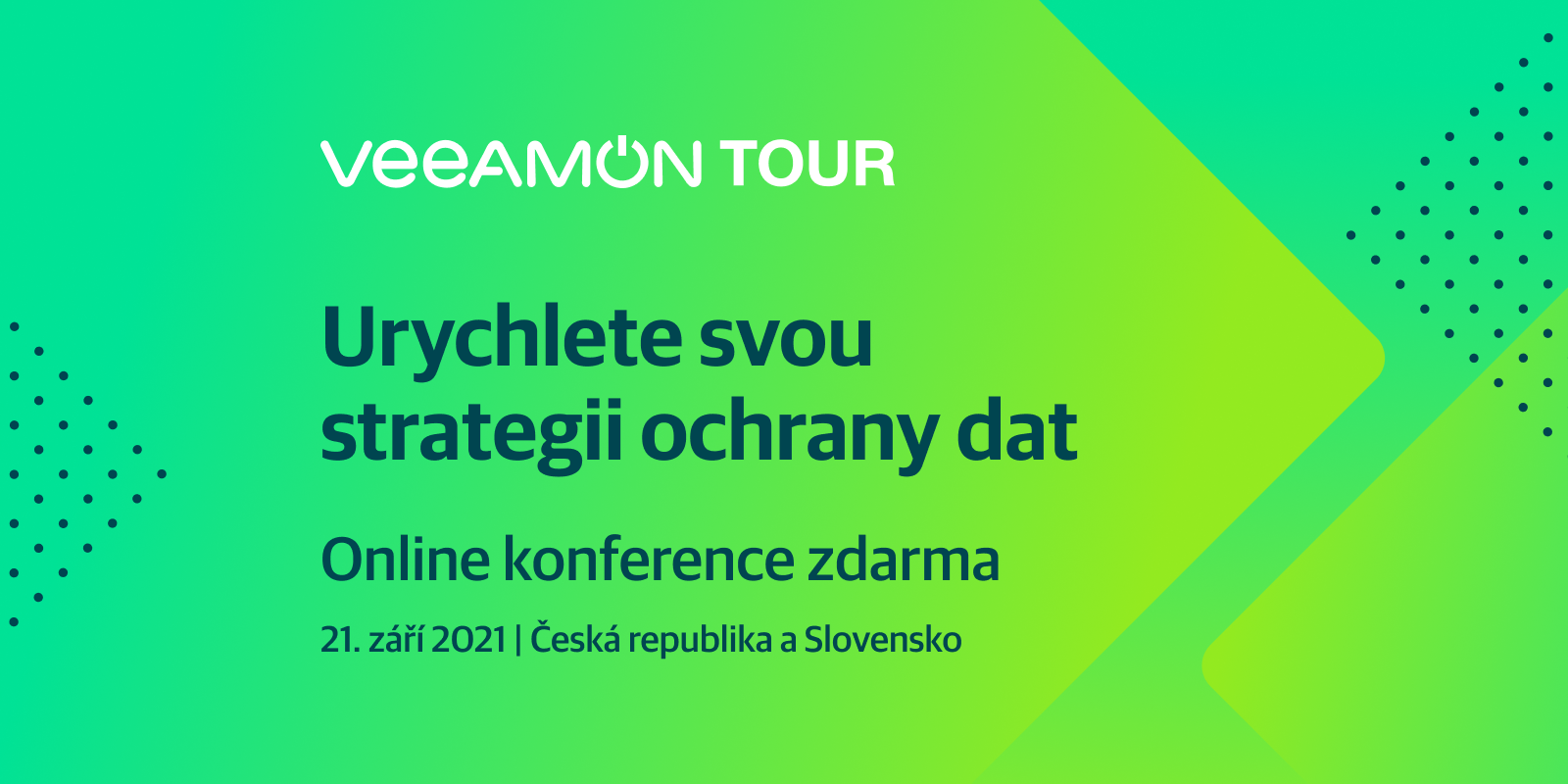 VeeamON Tour Czech Republic