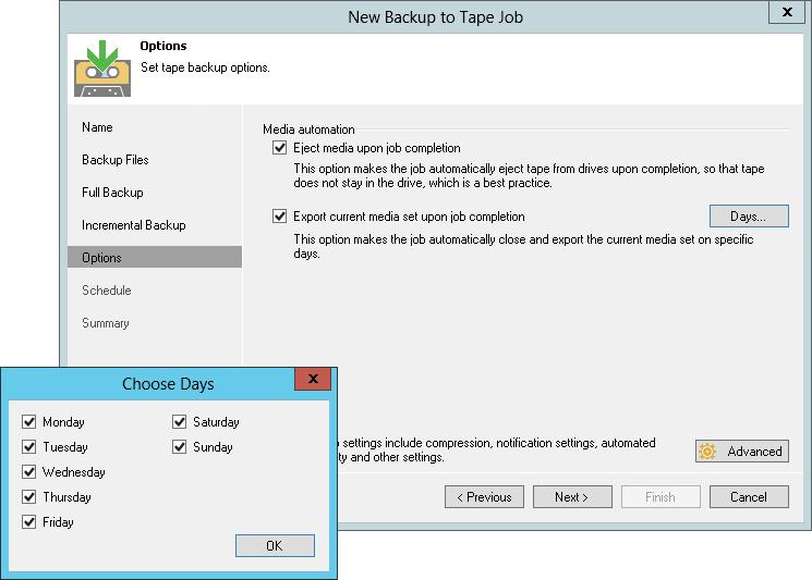 Native Tape Support & Veeam Backup & Replication