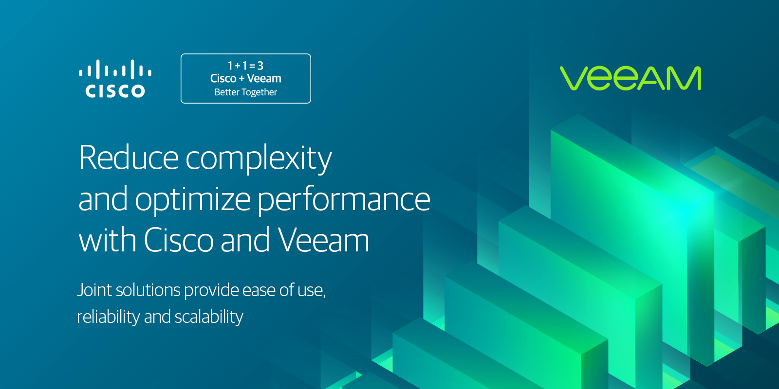 Cisco Storage Backup Software - Veeam Availability Solutions