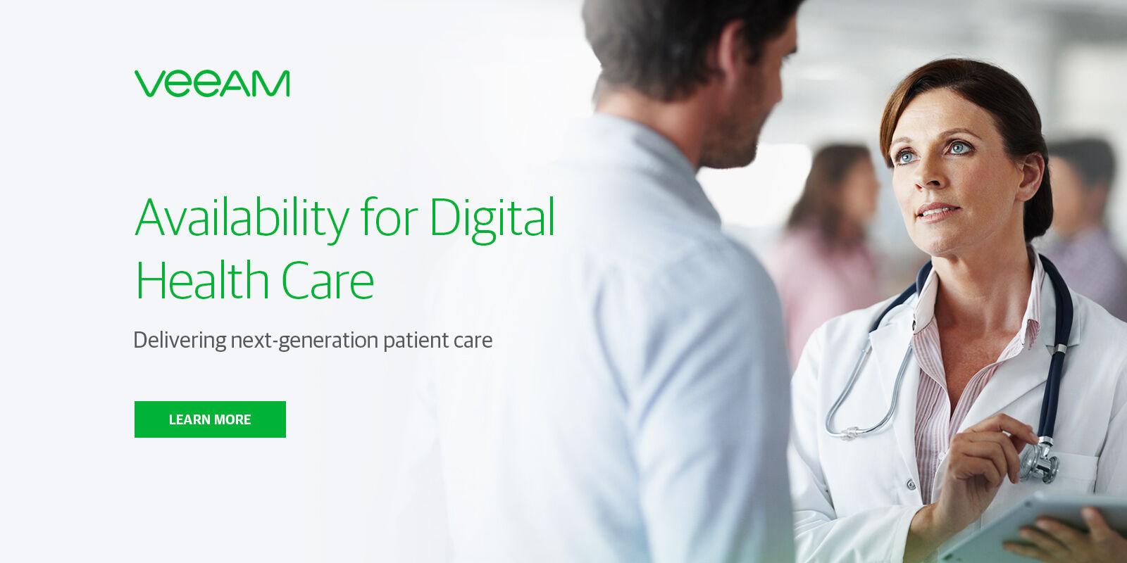 Healthcare backup software