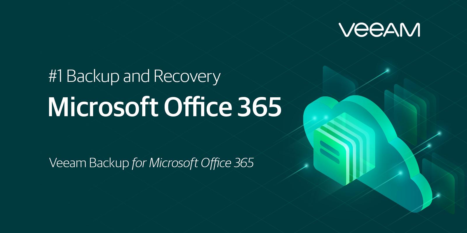 Backup Office 365 Data Using Veeam Backup for Microsoft