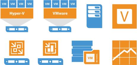 Free Hyper-V and VMware Stencils for Visio