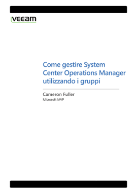 Come gestire System Center Operations Manager utilizzando i gruppi