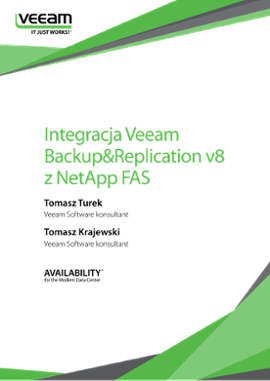 Integracja Veeam Backup&Replication v8 z NetApp FAS