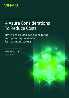 4 Azure Considerations To Reduce Costs