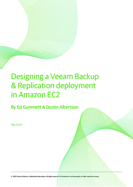 Designing a Veeam Backup & Replication deployment in Amazon EC2